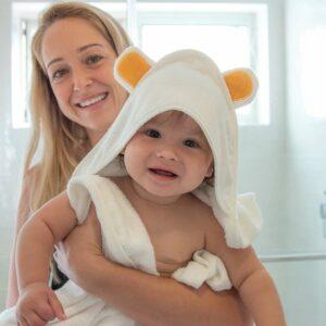 מגבת קפוצון דובי לתינוק