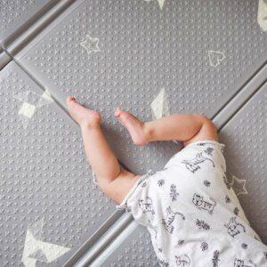 משטח פעילות דק לתינוקות אוריגמי